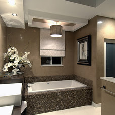 Modern Bathroom by Michael Laurenzano Photography
