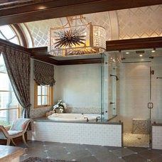 Traditional Bathroom by Michael Lyons Architect