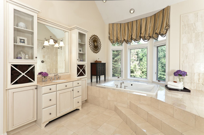 Traditional Bathroom by Millbrook Circle Interior Design