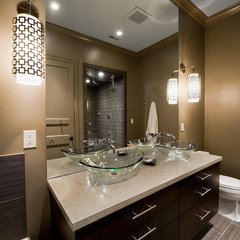 contemporary bathroom by Andrew Roby General Contractors