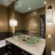 Modern Bathroom by Andrew Roby General Contractors