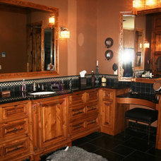 Traditional Bathroom by Modern Design Cabinetry