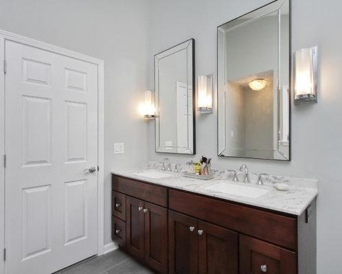 Ensuite bathroom design ideas renovations photos with for Ensuite flooring ideas