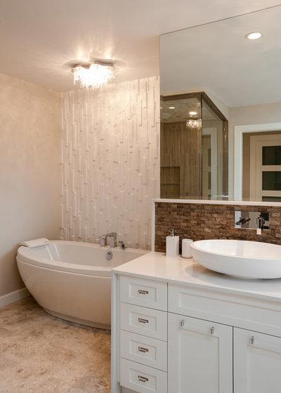 Contemporary Bathroom by My House Design Build Team