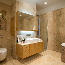 Modern Bathroom by Natalia Skobkina
