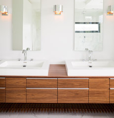 modern bathroom by Natural Balance Home Builders