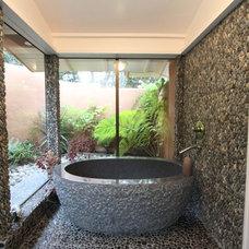 Mediterranean Bathroom by Nunley Custom Homes
