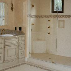 Traditional Bathroom by Oak View Designs LLC