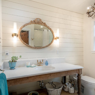 Master Bathroom of Santa Cruz Beach Cottage