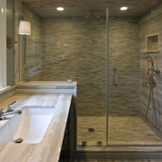 Contemporary Bathroom by Clawson Architects, LLC