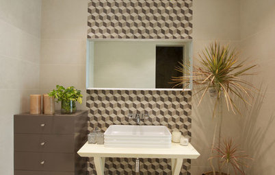 11 Patterned Bathroom Floors From Indian Homes