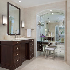 Traditional Bathroom by Pamela Singer & Associates