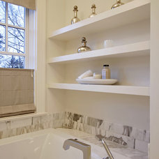 Traditional Bathroom by Paul Moon Design