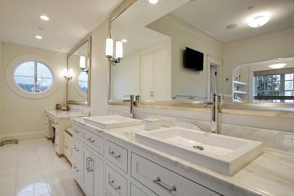Traditional Bathroom by Paul Moon Design