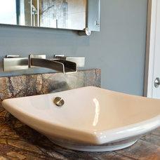 Traditional Bathroom by Sylvie Meehan Designs
