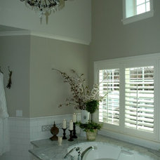 Traditional Bathroom by Peter D. Swindley Architects and Interiors