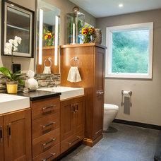 Contemporary Bathroom by Westborough Design Center, Inc.