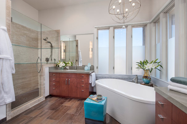 Contemporary Bathroom by Projects by Giffin & Crane