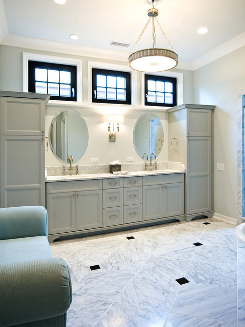 Window Above Vanity Houzz