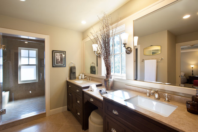 Traditional Bathroom by Redbud Custom Homes