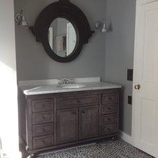 Beach Style Bathroom by La Grange de S.