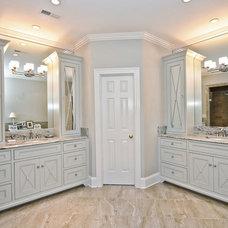 Traditional Bathroom by Benham Builders