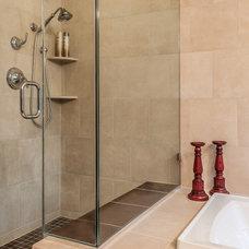 Traditional Bathroom by Hammer Contractors