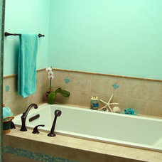 Tropical Bathroom Master Bathroom Remodel