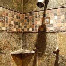 Traditional Bathroom by jDj lifestyle  design  remodel