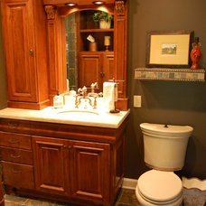 Traditional Bathroom by jDj lifestyle  design  remodel