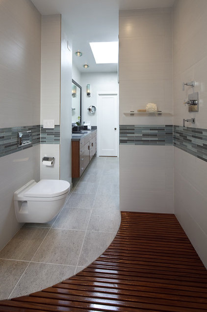 modern bathroom by Mark Newman Design