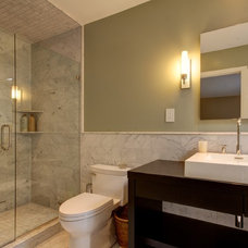 Contemporary Bathroom by Built-Rite Remodeling LLC