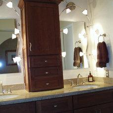 Contemporary Bathroom by S Interior Design