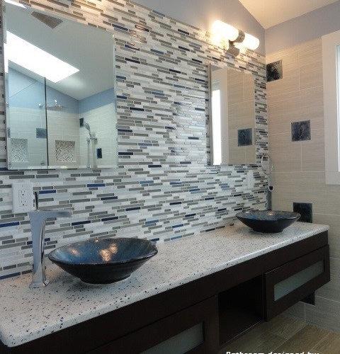River rock shower design home design ideas pictures for River rock bathroom ideas