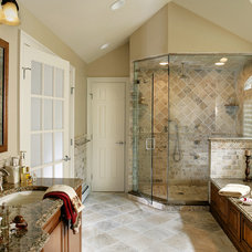 Traditional Bathroom by Creative Design Construction, Inc.