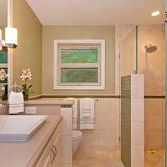 traditional bathroom by RemodelWest