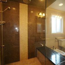 Contemporary Bathroom by Lotus Home Interiors www.lotushomeinteriors.com
