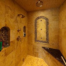Traditional Bathroom by Michael Vincent Custom Homes, LLC
