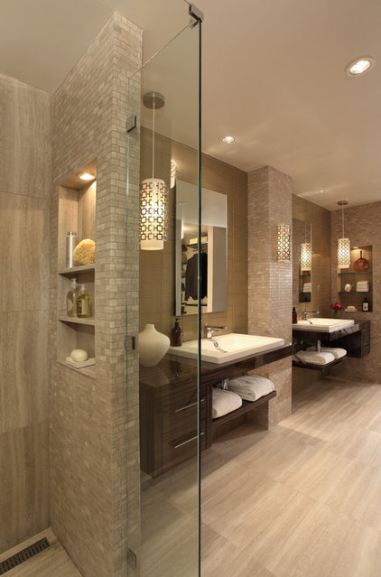 Contemporary Bathroom by Rabaut Design Associates, Inc.