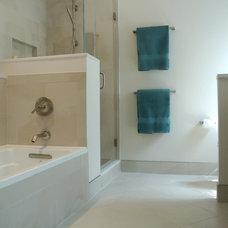 Traditional Bathroom by RJK Construction Inc