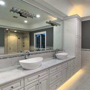 Master Bathroom Renovation, South Glastonbury, CT
