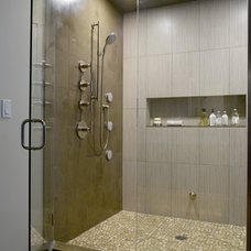 Contemporary Bathroom by Jennifer Gardner Design
