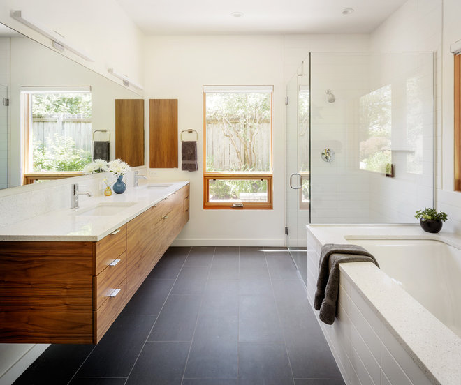 Contemporary Bathroom by risa boyer architecture