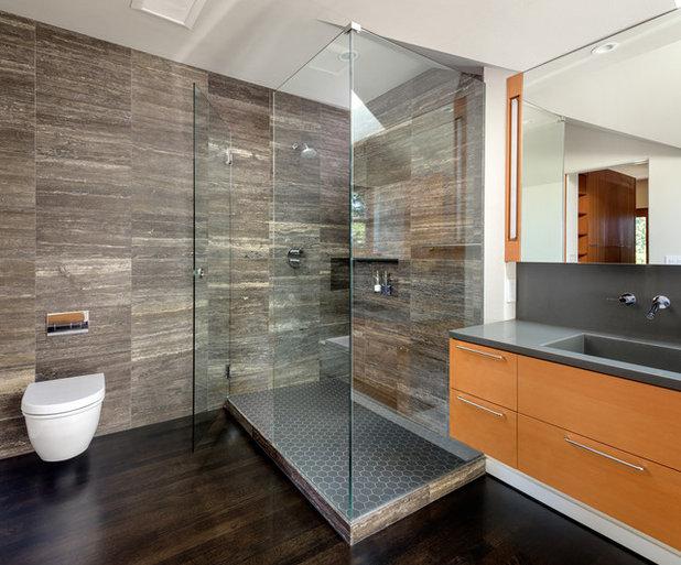 Modern Bathroom by risa boyer architecture