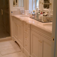 Traditional Bathroom by River's Edge Woodworks