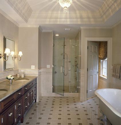 Traditional Bathroom by Robin Muto