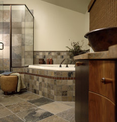 contemporary bathroom by Robin Muto
