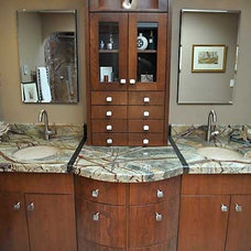 Contemporary Bathroom by Roloff Construction, Inc