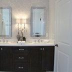 Wyckoff Transitional Contemporary Master Bathroom