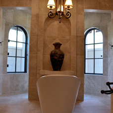 Mediterranean Bathroom by Sanders Architecture & Design